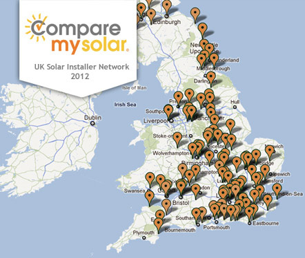 CompareMySolar - Select your roof on the map and see your solar panel potential