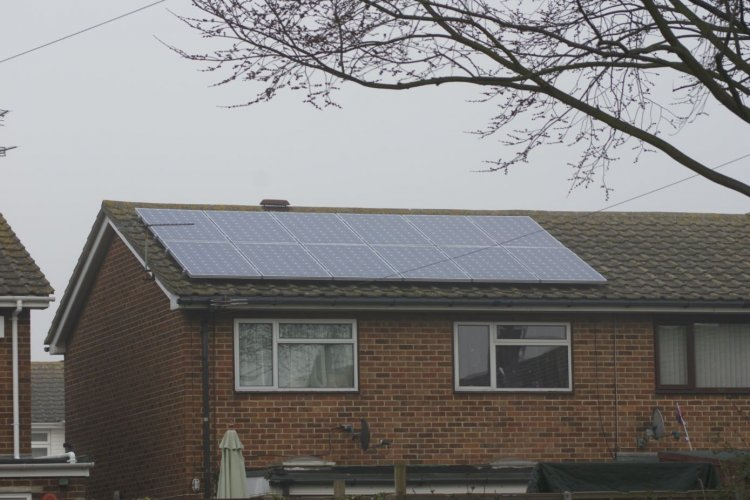 Example solar panel installation by Blue Sky UK in Ramsgate