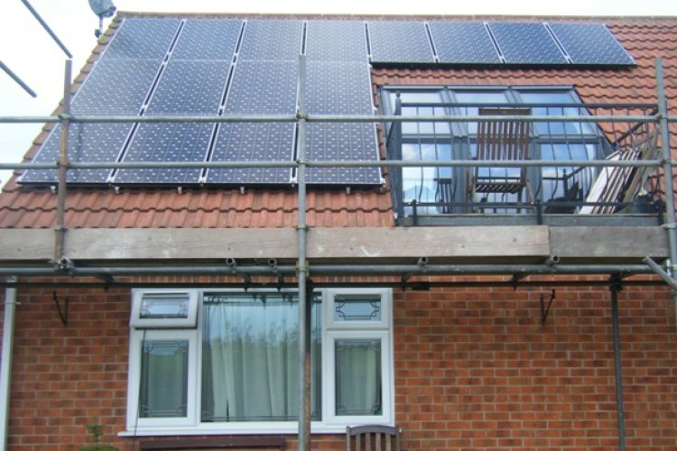 Example solar panel installation by CTS Renewables in Mansfield