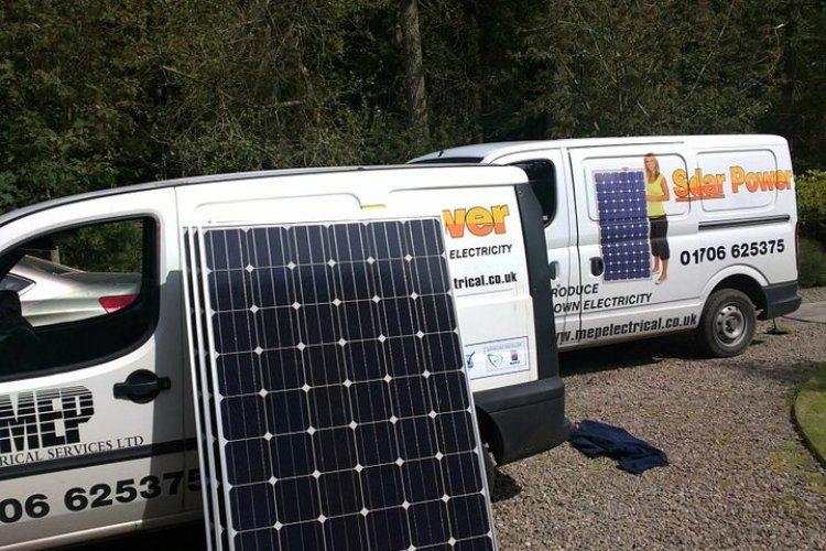 M E P Electrical Services Ltd Solar Panel Installer In