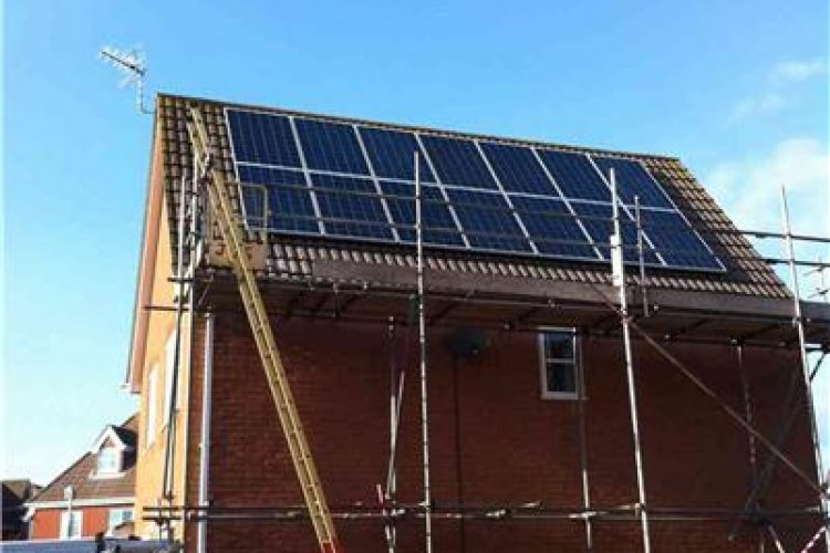 Example solar panel installation by Infinity Electrical and Renewables in Whiteley, Fareham