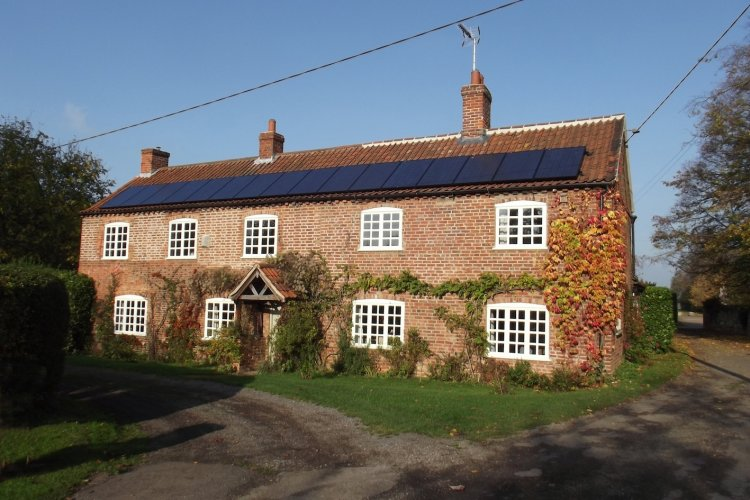 Example solar panel installation by Prescient Power Ltd in Ashby-De-La-Zouch