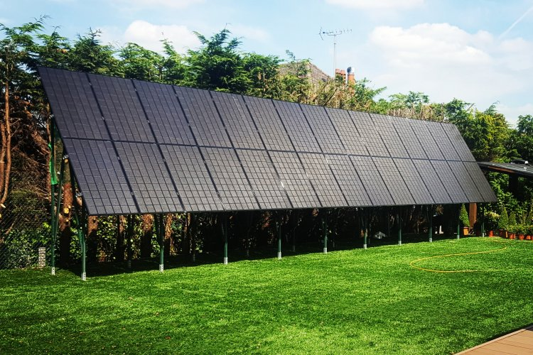 Example solar panel installation by UK Solar Generation in London