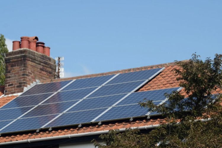 Example solar panel installation by Vasco Carbon Ltd in Birkdale, Southport, Merseyside