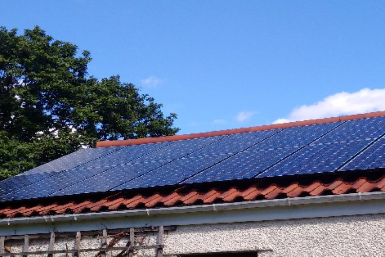 Example solar panel installation by Baltic Energy Limited in Newcastle Upon Tyne