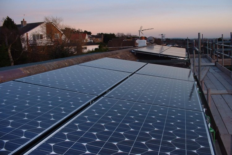 Example solar panel installation by Payback Energy Ltd in Moreton, Wirral