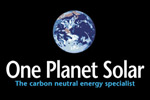 One Planet Solar - solar panel installer in East Renfrewshire